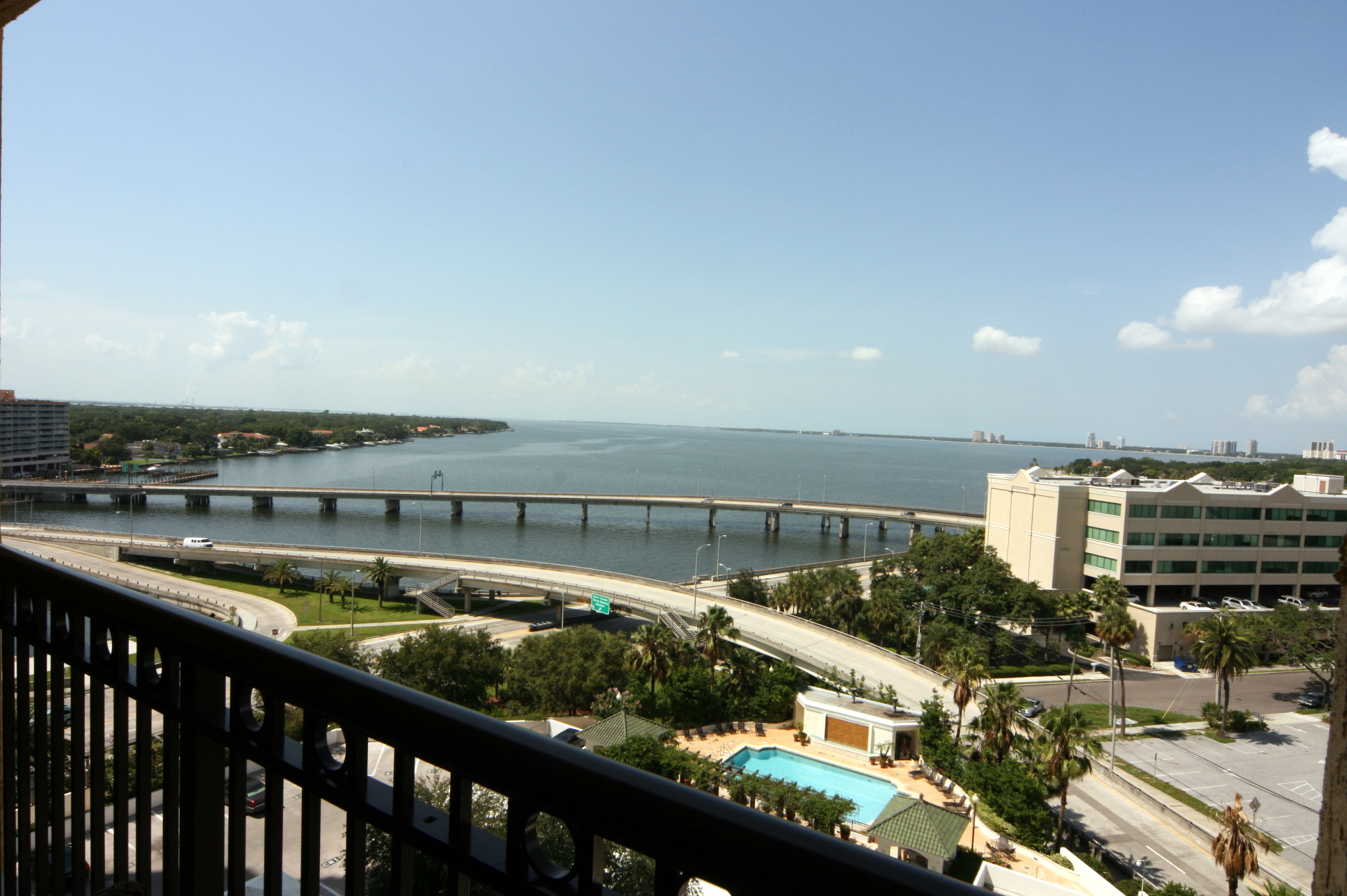 View from 345 Bayshore Condo